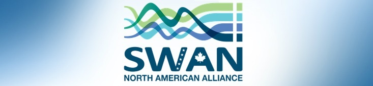 web banner featuring logo of Smart WAter Networks SWAN North American Alliance